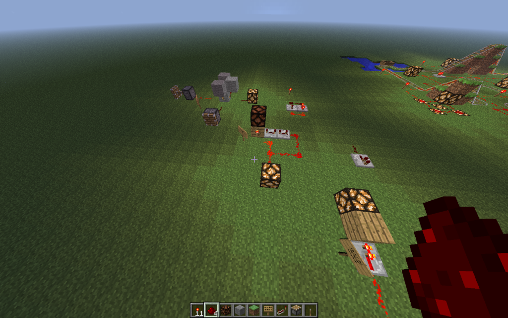 #MakeEveryWeek : Redstone Circuits in Minecraft