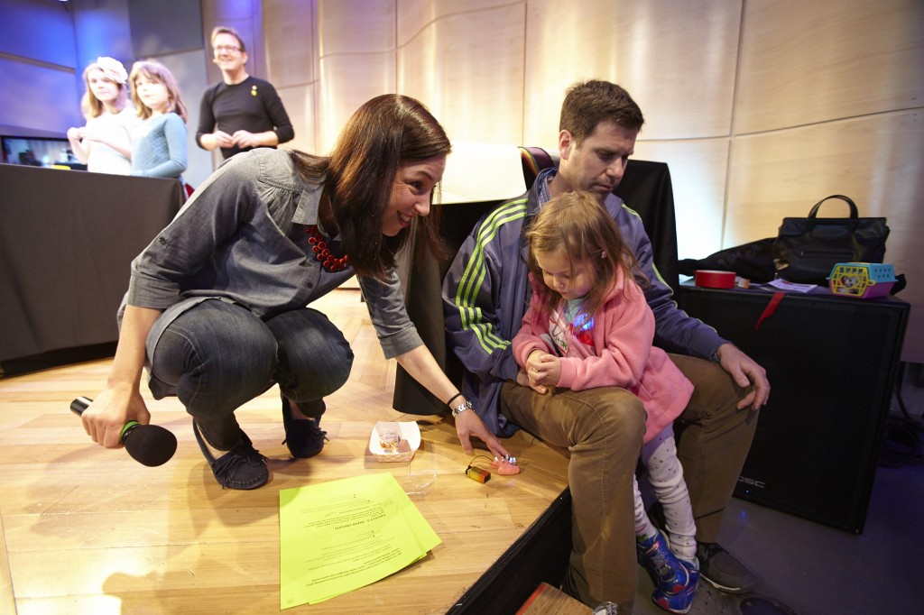 Family Maker Day at WNYC's Greene Space