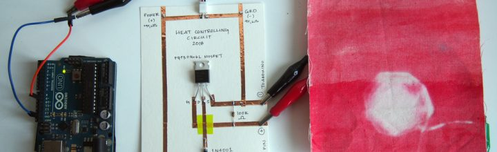 Heating Circuits for Thermochromic Inks